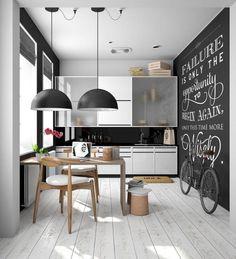 60+ Inspiring Gorgeous Scandinavian Kitchen Ideas