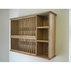 Pine, wall, 28  plate rack. W91.5cm. £169 Dimensions: W91.5cm, H65cm, D22cm. Space for 14 large plates with a maximum plate diameter of 29cm and for 14 smaller plates with a maximum plate diameter of 22cm. Also available, bespoke sizes and paint colours.