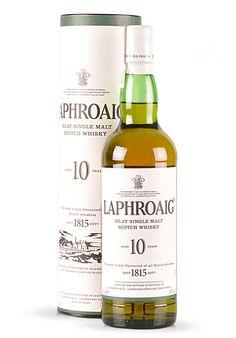 Whisky Laphroaig, Islay Single Malt Scotch 10 ani (0.7L) - SmartDrinks.ro