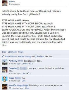 Best Facebook post ever.