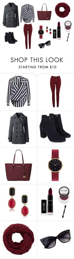 """""""Untitled #1"""" by eliza147 ❤ liked on Polyvore featuring AG Adriano Goldschmied, Lands' End, Monsoon, Michael Kors, Abbott Lyon and 1st & Gorgeous by Carolee"""