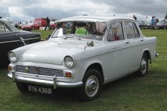 The Hillman Minx - I passed my driving test in one of these (a black one) - in 1972 or thereabouts. It was ancient even then. Coventry, Hillman Husky, Vintage Cars, Antique Cars, Automobile, Veteran Car, Morris Minor, First Car, Car Pictures