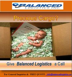 #Precious Cargo? WE CAN DO IT! DELIVERY to / from CANADA and USA.