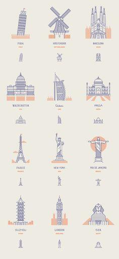 Makers Co. | World Landmarks