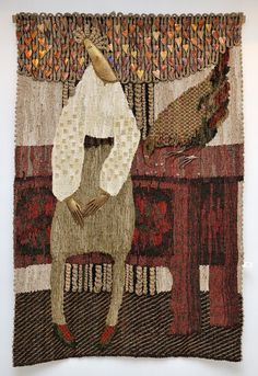 Гобелены Ярославы Ткачук.. She weaves tapestry but also uses Mixed Media in the work. Copper is also used in the work. It's Mixed Media Tapestry and it's fabulous. Комментарии : LiveInternet - Российский Сервис Онлайн-Дневников