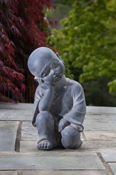 Baby Buddha Garden Statue | baby-buddha-garden-statue-third-eye.jpg