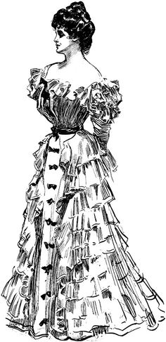 lillyho | German bisque character Gibson Girl
