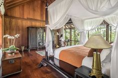 Luxurious Master Bedroom of Umabona Residence Tropical Interior, Ubud, Hotel Reviews, Hotels And Resorts, Master Bedroom, Interior Design, Luxury, Villa, Spa