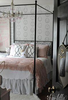 Vintage Style Bedroom   #Vintage