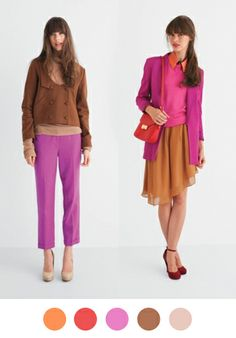 inspiring me for fall. and i already found a pretty hot pink (vintage) blazer just like this one!