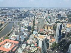 Uitzicht vanaf Bitexco Financial Tower