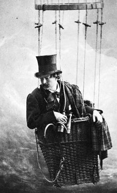 Felix Nadar, Self-portrait, ca. 1865. -- Yes; Felix was sure of it:  Penelope was sneaking chocolate again.