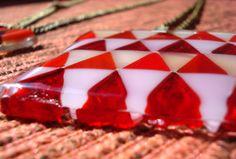 Glass neckclace, handmade by bi-drio objetos y accesorios