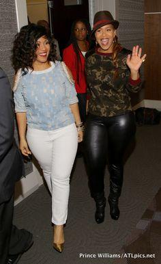 [Photos] Tina & Erica Campbell Host 'Mary Mary' ATL Screening Event