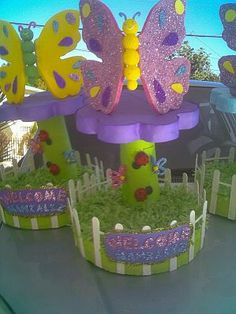 MuyAmeno.com: Fiestas Infantiles, Decoración Mariposas, Centros de ...
