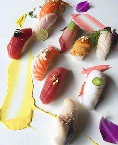 Sushi Party, Impressive Desserts, Edible Art, Sashimi, Japanese Food, Live Life, Crockpot Recipes, Bakery, Sculptures