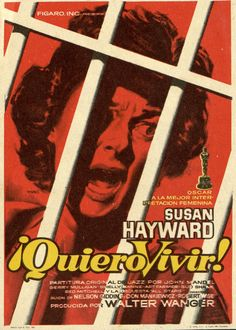 149.  MAC. Quiero vivir. Dirigida por Robert Wise. Barcelona: I. G. Marí, 1959.  #ProgramasdeMano #BbtkULL #Diseñadores #MAC#DiadelLibro2014