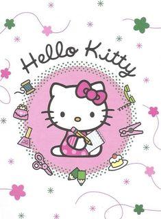 Walpaper Hello Kitty, Hello Kitty Nursery, Hello Kitty Wallpaper, Pink Wallpaper, Images Hello Kitty, Chat Hello Kitty, Hello Kitty My Melody, Kawaii, Sanrio Characters