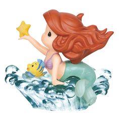 The Little Mermaid - You're A Star - Ariel - Flounder - Precious Moments - World-Wide-Art.com