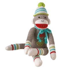 For the vintage loving bebe: Midwest CBK cozy sock monkey #hAAppyholidays