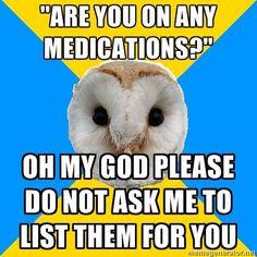 F*ck Yeah Bipolar Owl