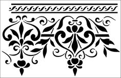 stencil patterns on pinterest silhouette online store cutting file. Black Bedroom Furniture Sets. Home Design Ideas