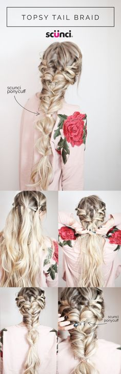 Learn how to braid with this simple and easy method with Scünci! I am back with another gorgeous DIY styling option to help you always feel your best & look amazing. Collaborating with Scunci t…