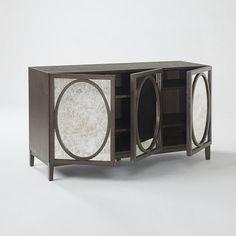 Foxed Mirror Buffet | west elm
