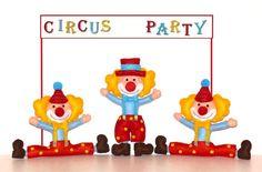Clown pagliacci compleanno festa a tema circo