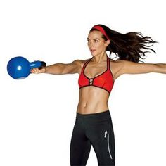 15-Minute Kettlebell Workout ( I love kettlebells; so much bang for the buck!) - Please Like, Repin or Follow!