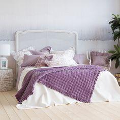 Lavender viscose and silk quilt - Quilts - Bedroom | Zara Home United Kingdom