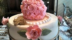 Downtown Abbey inspired cake