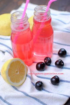 Limonada Rosa con Gas