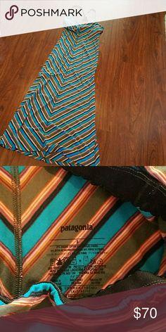 Like new Patagonia maxi dress size small gorgeous . Patagonia Dresses Maxi