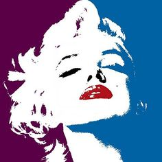 marilyn monroe by canvasarts1