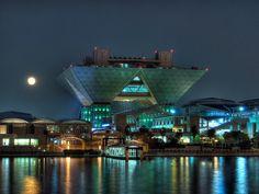 The Tokyo Big Sight exhibition center