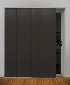 Portsea Plain (Light Filtering)  Panel Glide #panel #glides #blinds