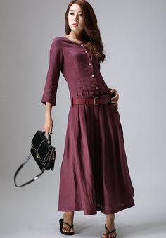 elegant  Langes Kleid (802) von xiaolizi fashion auf DaWanda.com