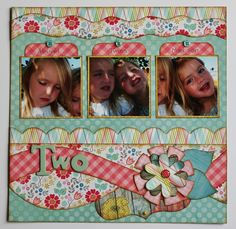 Two Page Layouts | Kiwi Lane Designs ⊱✿-✿⊰ Join 750 people and follow the Scrapbook Pages board for Scrapping inspiration ⊱✿-✿⊰