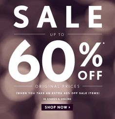 Sale Email Design