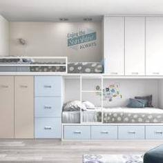 dormitorio tren : Dormitorios infantiles de estilo moderno de Toca Fusta