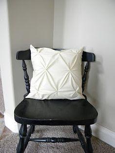 DIY Textured Pillows