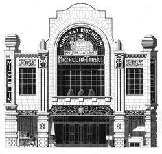 It's Nice That : Publication: London's architecture according to astonishingly talented illustrator Thibaud Herem