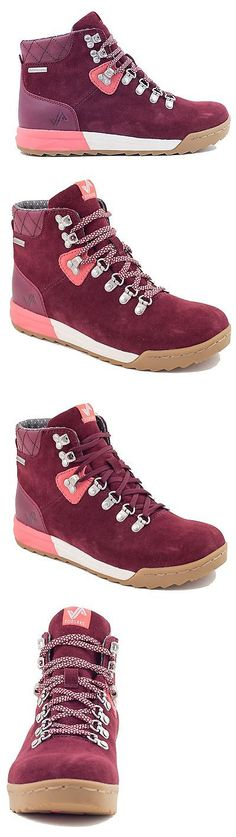 Womens 181393: Forsake Patch - Women S Waterproof Premium Leather Hiking Boot (8, Burgundy) -> BUY IT NOW ONLY: $112.7 on eBay!