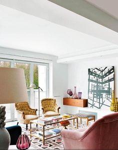 ¡Buenos días a todos! No hace muchos días, aparecía un artículo en Elle Decor versión USA sobre las tendencias decorativas para este 2017. Entre sus previsiones en cuanto colores, acabados, materia…