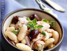 insalata-fagioli-008-480x368 Tasty, Yummy Food, Quinoa, Potato Salad, Garlic, Potatoes, Chicken, Vegetables, Ethnic Recipes