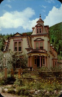 Maxwell House in Georgetown, Co...one of my favorite homes.