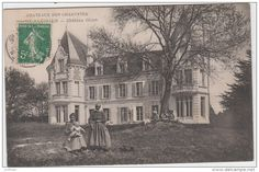 SAINT SAVINIEN CHATEAU GILLET ANIMEE 1908 TBE