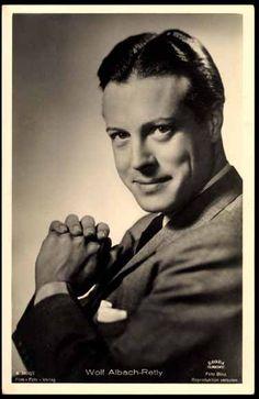 Wolf Albach-Retty, father of Romy Schneider (* 28. Mai 1906 in Wien; † 21. Februar 1967 ebenda) war ein österreichischer Schauspieler.