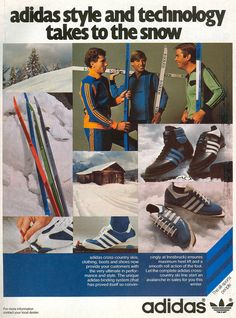 love don't dance here anymore Adidas Vintage, Adidas Retro, Adidas Mode, Sneaker Posters, 70s Inspired Fashion, Vintage Sportswear, Adidas Tracksuit, Vintage Classics, Snow Fashion